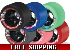 Sure-Grip Fugitive Roller Skate Wheels
