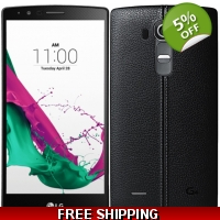 LG G4 Dual H818P 32GB 6MP 4G Dual Sim Phone Leather Unlocked