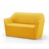 CHAM3 Chamfer two seat reception sofa