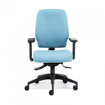 ME100 Activ ME fully upholstered posture high back office chair
