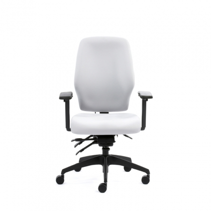 AQ200 Quattro fully upholstered contoured high back office chair