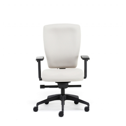 ID100 Activ i-Dentity upholstered square high back task office chair
