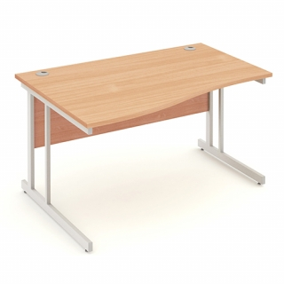 Impulse 1400mm Left Handed Wave Desk C..