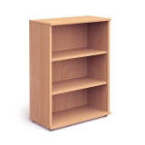 Impulse 1200mm High Bookcase c/w 2 she..