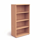 Impulse 1600mm High Bookcase c/w 3 she..