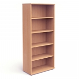 Impulse 2000mm High Bookcase c/w 4 she..