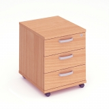 Impulse 3 Drawer Mobile Pedestal