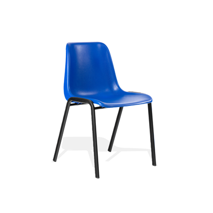4 leg polypropylene classroom chair
