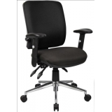 Medium back posture task office chair ..