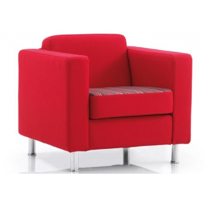 DO1 Dorchester single seat reception armchair
