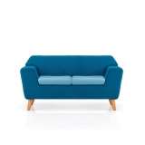 STRETCH2 Stretch two seat reception sofa