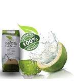 NATURA COCO® Pure Premium Coconut Water, Natural Tetra packed 330ml