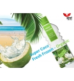SUPER COCO Frozen Young Coconut Water 100% ORGANIC in PET - NO Private Label for this Product