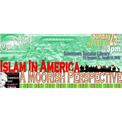 OUR STORY/ Islam In American A Moorish Perspective 2-DVD set