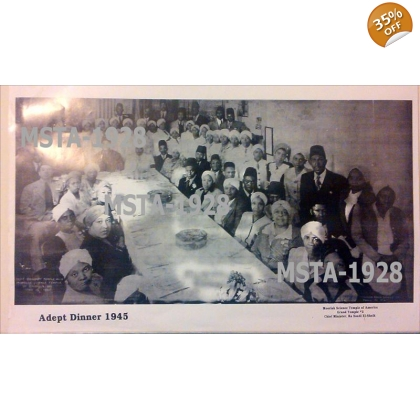 Moorish Science Temple of America - ADEPT DINNER 1945