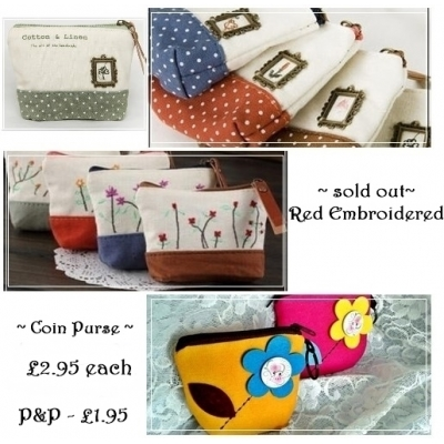SALE - GIFTS - coin purse