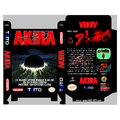 Akira *Manual Available*