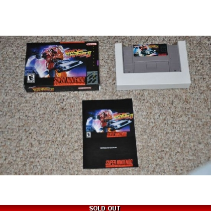 Super Back to the Future II CIB