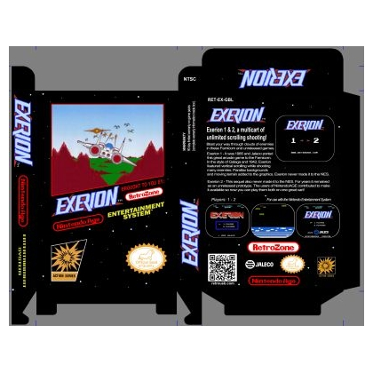 Exerion 1 & 2 *Proceeds to NA.com""