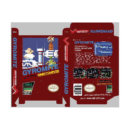 Gyromite - Famicom Adaptor Series