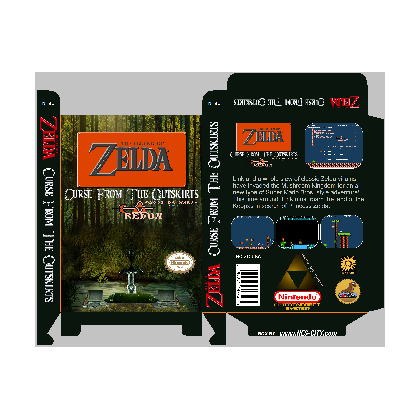 Zelda: Curse from the Outskirts *Manual Available*