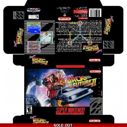 Super Back to the Future II *Manual Available*
