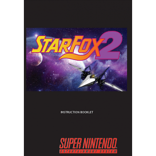 Star Fox 2 Manual