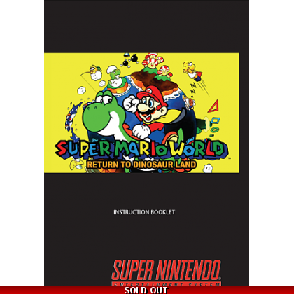 Super Mario Return to Dinosaur Land Manual
