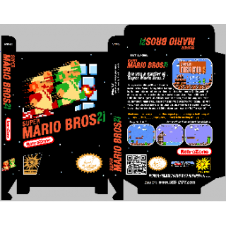 Super Mario Bros 2j *Manual Available*