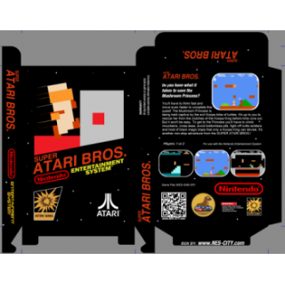 Super Atari Bros. *Manual Available*