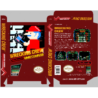 Wrecking Crew - Famicom..