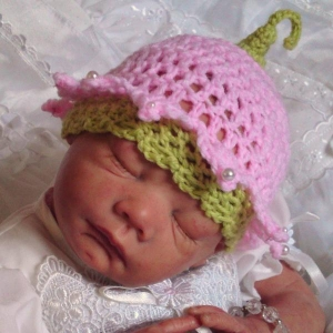 36 - Flower Fairy Hat Crochet Pattern