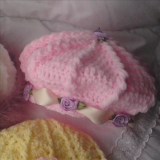 20 - Girls Beret & Beanie Hat Crochet ..