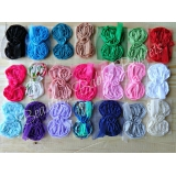 Shabby Bows - Grab Bag of 10 Chiffon T..