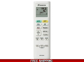 Daikin® Mini Split Original Remote Control