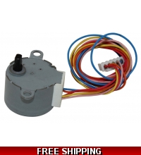 Louver Motor For Ductless Mini Split Systems