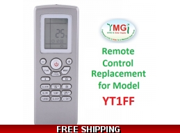 YMGI Mini Split Original Remote Control Replacement