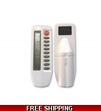 AirCon Silver Series Mini Split Original Remote Control