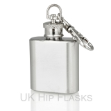 1oz Keyring Hip Flask