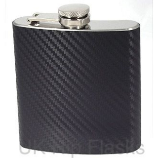 6oz Hip Flask- Carbon F..