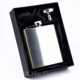 6 oz Hip Flask in Gift Box