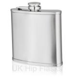 6oz Lipped Hip Flask