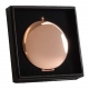 Rose Gold Compact Mirror in Gift Box