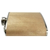 Wood Hip Flask - Light