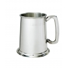 Double line Pewter Tankard with Plain handle - 1 Pint