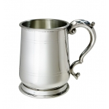 Jacobean Pewter Tankard - 1 Pint