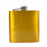 Gold Metallic Hip Flask