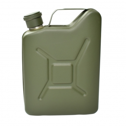 Jerry Can Hip Flask - Green