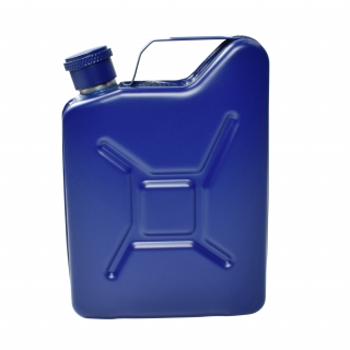 Jerry Can Hip Flask - Blue