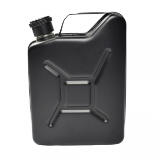 Jerry Can Hip Flask - Black